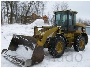 Услуги фронтального погрузчика, уборка снега