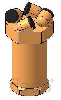 Буровые коронки (резцы) РШ-140