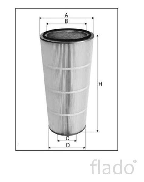 Фильтроэлементы к дробеметным, дробеструйным, пескоструйным установка
