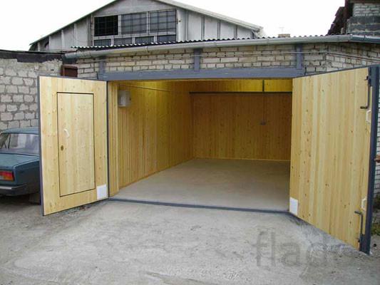 Ремонт гаражей,строительство в Красноярске