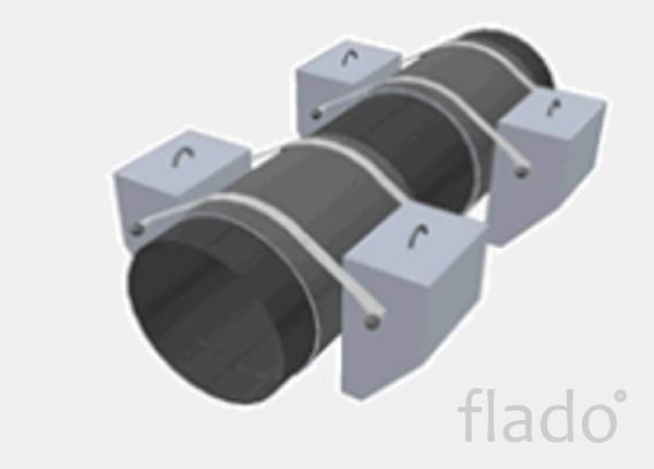 Утяжелители бетонные охватывающего типа для магистральных трубопроводо