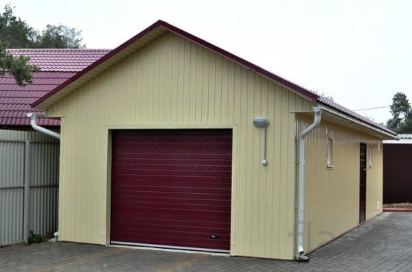 Ремонт гаражей,погребов,.