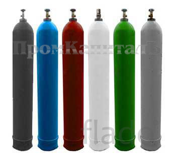 Баллоны газовые 5л 10л 20л 40л 50л ГОСТ 949-73