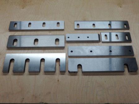 Производство ножей для гильотинных ножниц и дробилок.