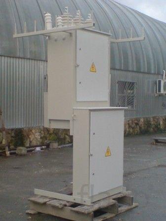 56Подстанция в металлическом и бетонном корпусе