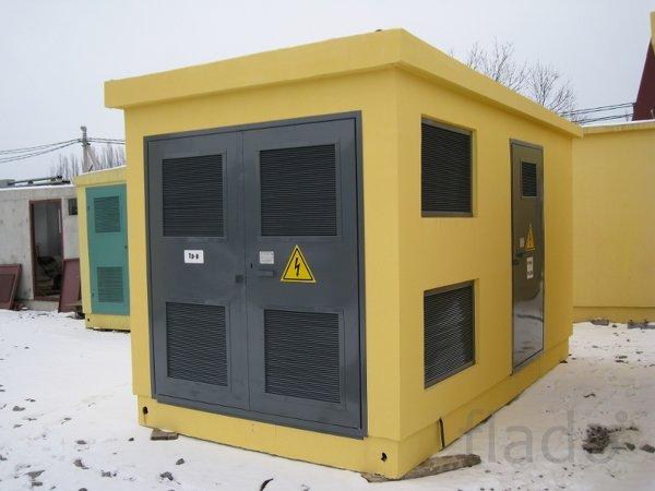Подстанция блочно-модульного типа до 1600ква