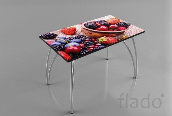 """Кухонный стол Albico ES-01 """"Ягодки"""""""
