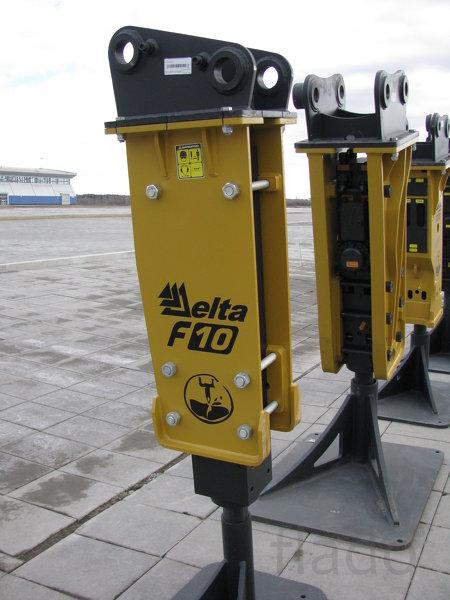 Гидромолот Delta F-10 для экскаваторов 12 – 20 тонн