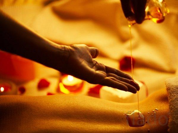 массаж в масле с продолжением