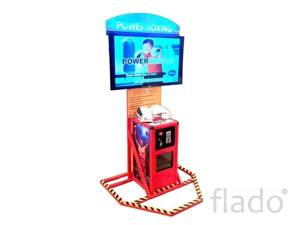 Бокс развлекательный автомат, видеосимулятор,