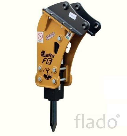 Гидромолот Delta F-6 на любые экскаваторы-погрузчики