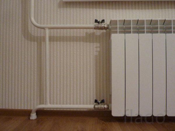 Установка нового радиатора
