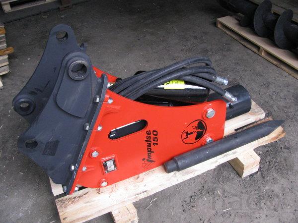 Гидромолот Impulse-150 Импульс на экскаватор-погрузчик