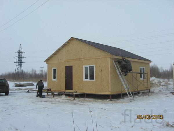 Быстровозводимые дома по канадской технологии