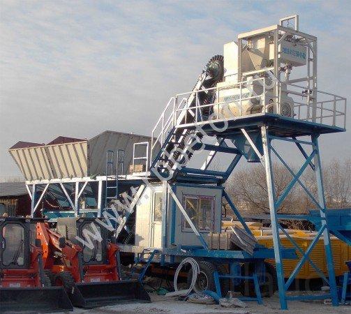 Мобильный бетонный завод YHZS 50