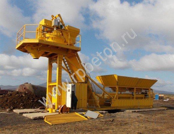Мобильный бетонный завод BHB 50