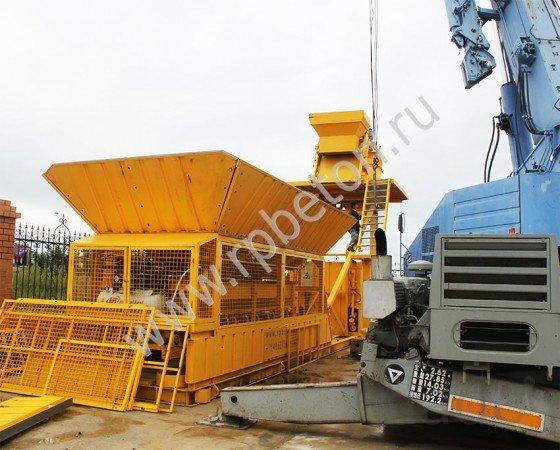 Мобильный бетонный завод BHB 75