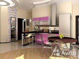 Дизайн ремонт и отделка квартир, домов офисов магазинов.