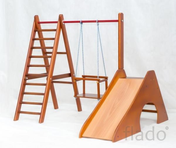 Шведская стенка для самых маленьких Карусель деревянный