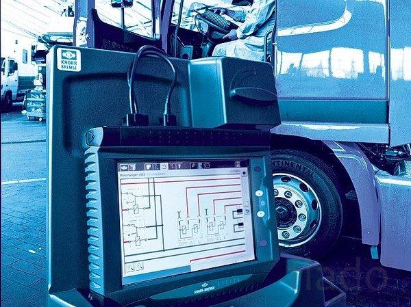 Компьютерная диагностика и ремонт электрики грузовых автомобилей