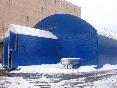 Ангары, технические палатки, укрытия