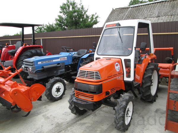 Японский мини трактор Kubota X24D