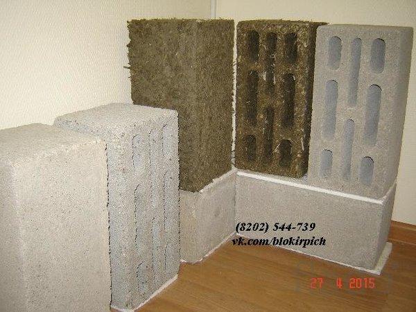 Теплоблок - бетонный блок стеновой с пенопластовой крошкой