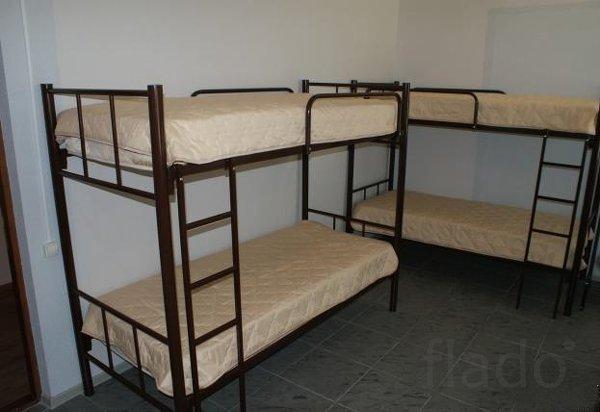 Кровати мебель на металлокаркасе и корпусная