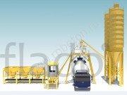 Бетонный завод GiTech 25 скиповый