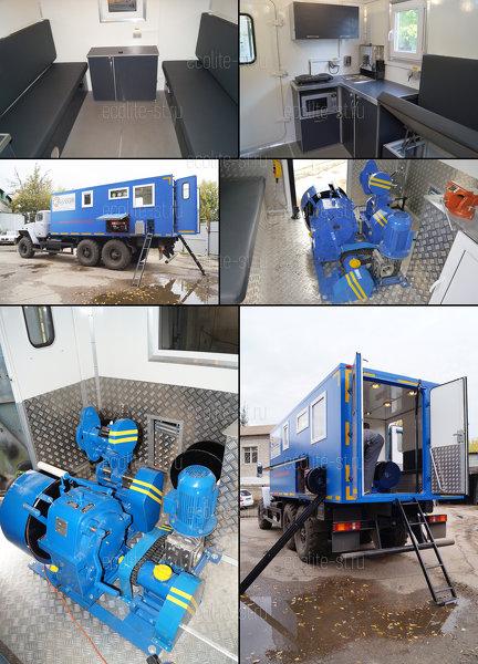 Лаборатория исследования скважин - УРАЛ 4320