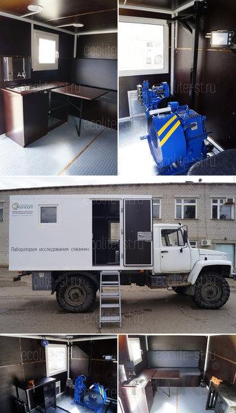 Лаборатория исследования скважин - ГАЗ 33081 Садко