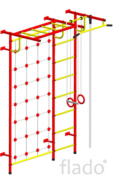 Дск Пионер-С4 New Шведская стенка с сеткой
