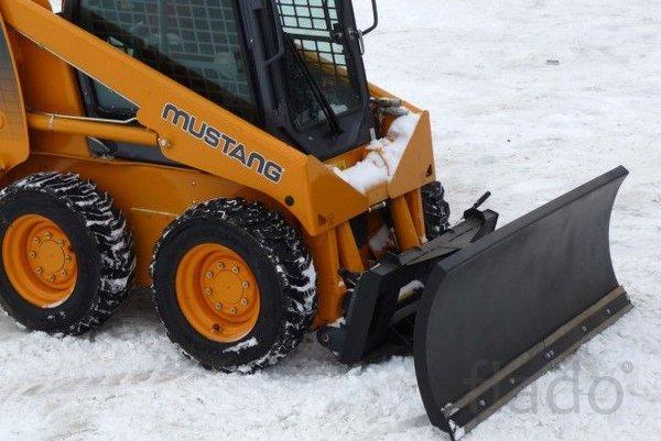 Отвал коммунальный снегоуборочный на мини-погрузчик