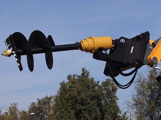 Гидровращатель (гидробур) Delta RD-5 на мини-технику 3 - 6 тонн