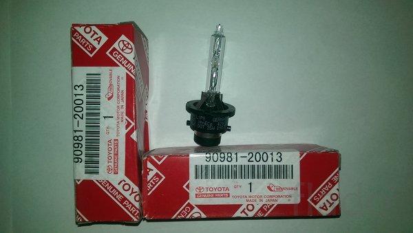 Ксеноновые лампы D4S, OEM 90981-20013, 90981-20024