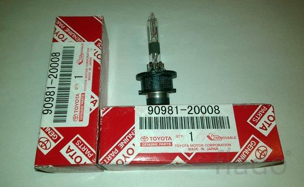 Ксеноновые лампы D2R, OEM 90981-20008, 90981-yzzcb