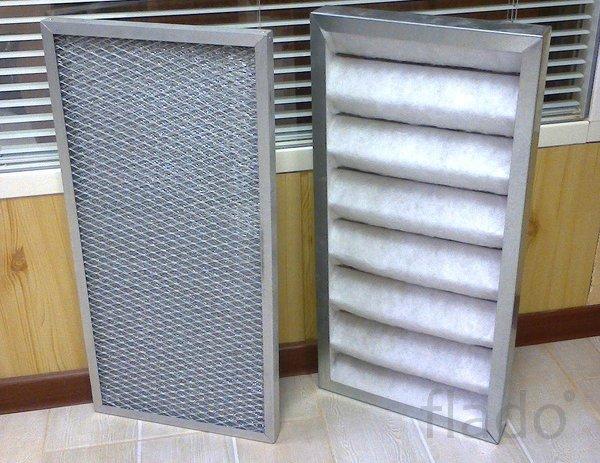 Фильтр ФПЖ фильтр панельный жироулавливающий