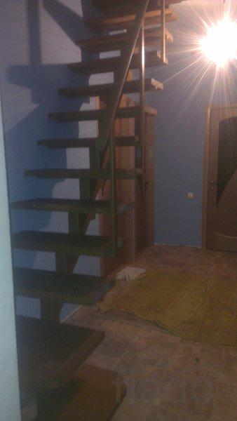 Лестницы мансардные, межэтажные на металлическом каркасе