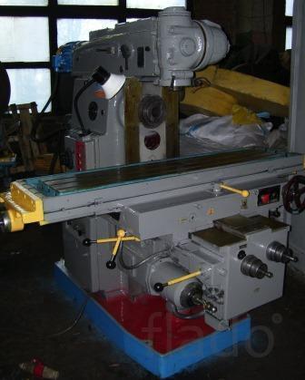 Станки фрезерные 6р13, 6р82, 6р83, вм127 после ремонта.
