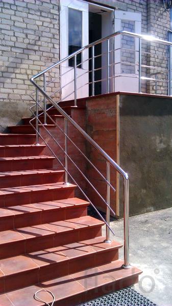 перила для лестниц,ограждения,поручни,пандусы и комплектующие из нержа