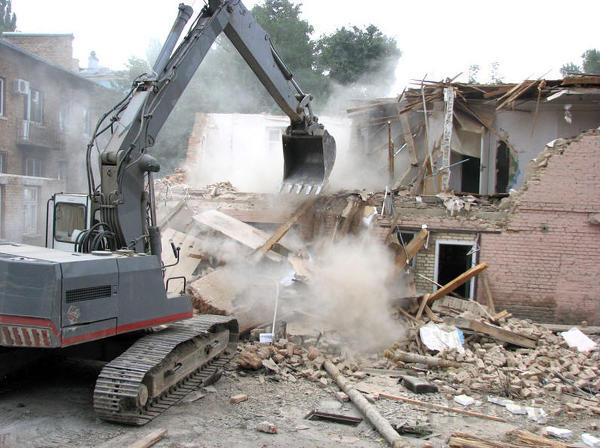 Демонтаж любой сложности. Вывоз строительного мусора в Анапе
