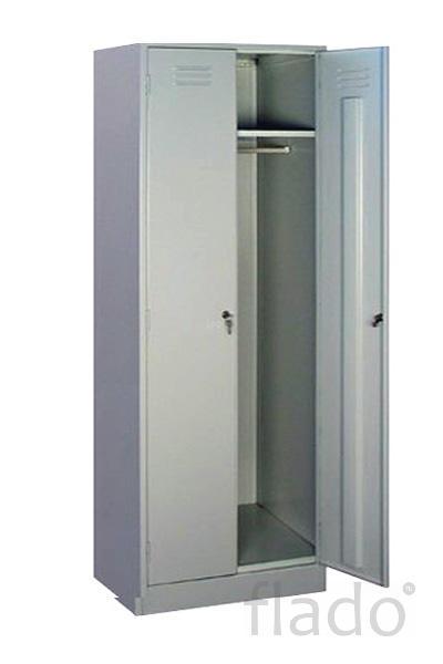 Шкафы металлические для спецодежды от производителя
