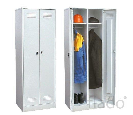 Шкафы металлические для спецодежды 1-2-3 секционные