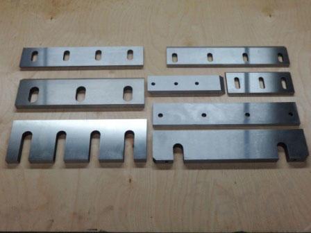 Изготовление ножей для станков, дробилок, шредеров.