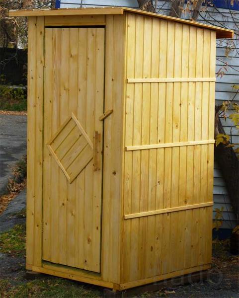 Дачные туалеты из качественного пиломатерила