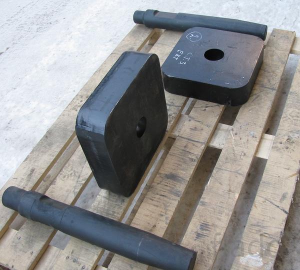 Трамбовка (плита трамбовочная) на гидромолот Delta F5 F6