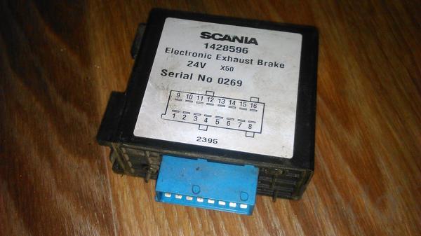 89200635152 Блок управления моторным тормозом Скания 4,  1428596