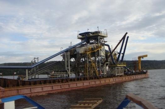 Агрегат сортировки для плавучей установки