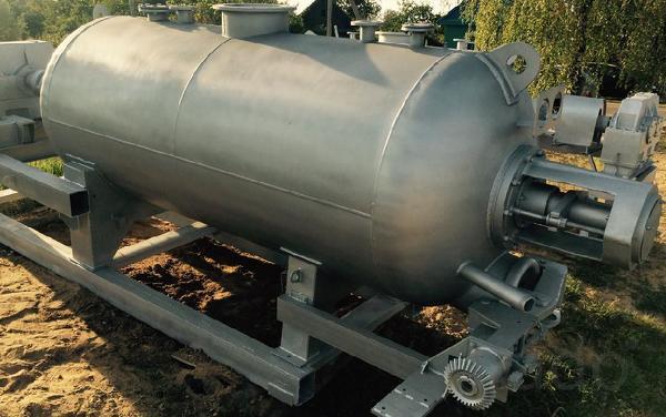Вакуумный котел КВ-4.6М для утилизации, переработки в мясокостную муку