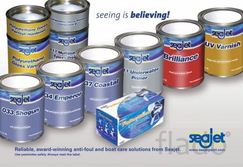 Предлагаем  краски против обрастания катеров  Seajet.
